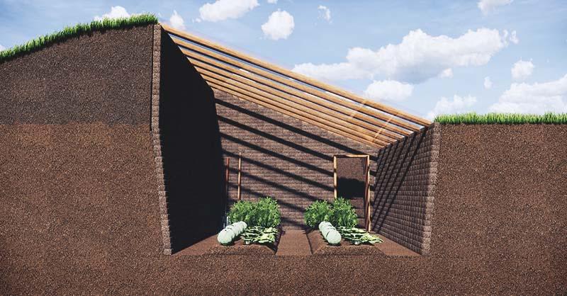 Serre enterrée : Moins de 300 euros pour construire un Walipini !