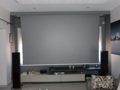 Ambiance salle de cinéma à domicile pour les passionnés du grand écran
