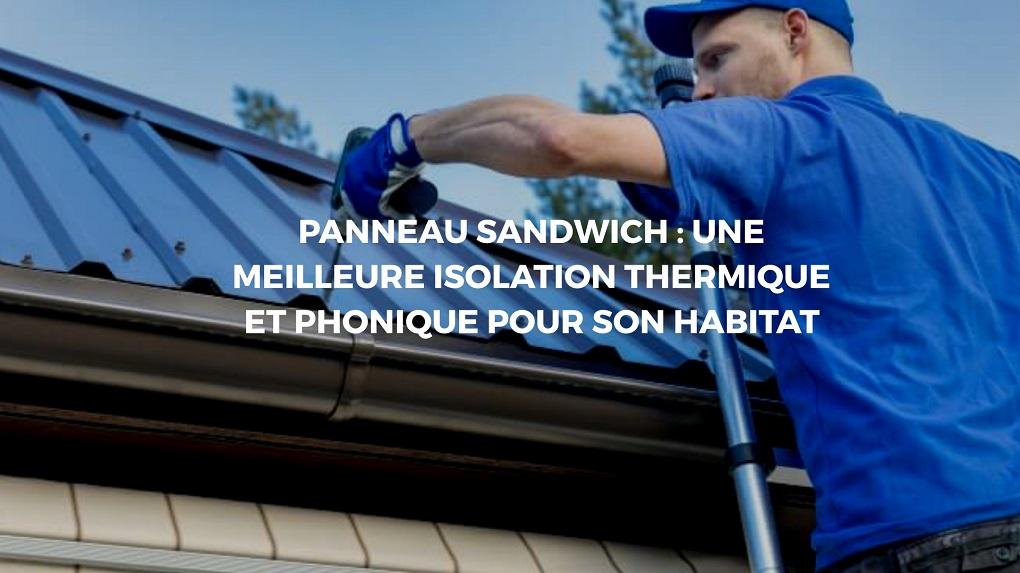 installation Panneau sandwich