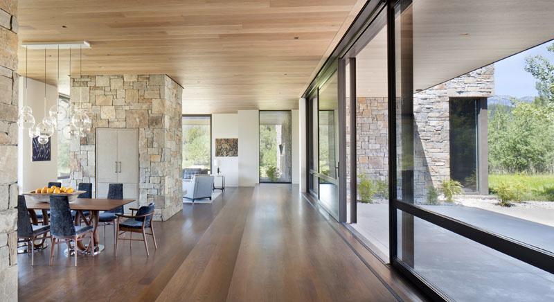 intérieur Maison contemporaine