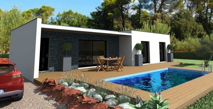 jardin Maison contemporaine