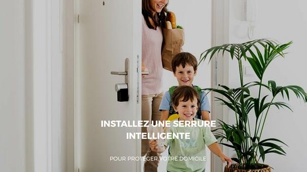 Renforcer la sécurité de votre maison avec une serrure intelligente