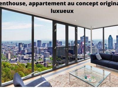Penthouse, un concept original des appartements en terrasse
