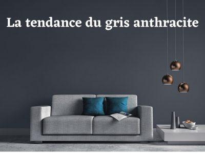 Tout savoir pour adopter le gris anthracite dans votre logement